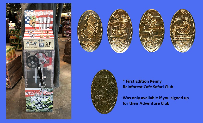 David 39 S Elongated Penny Collection